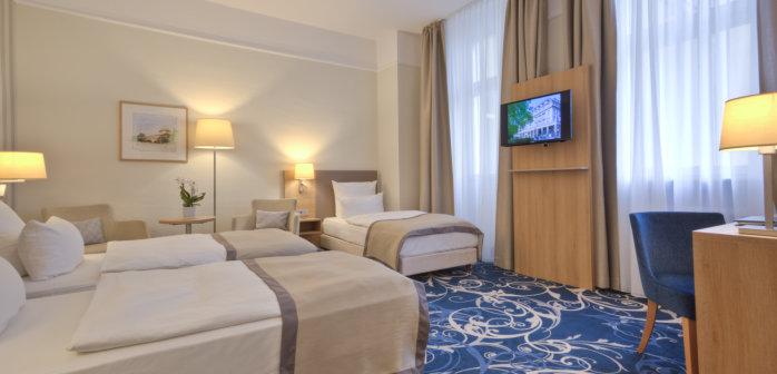 Doppelzimmer im luxus hotel in karlsruhe in baden for Karlsruhe design hotel